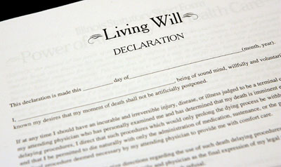 Residing wills in addition to enhance directives intended for health decisions
