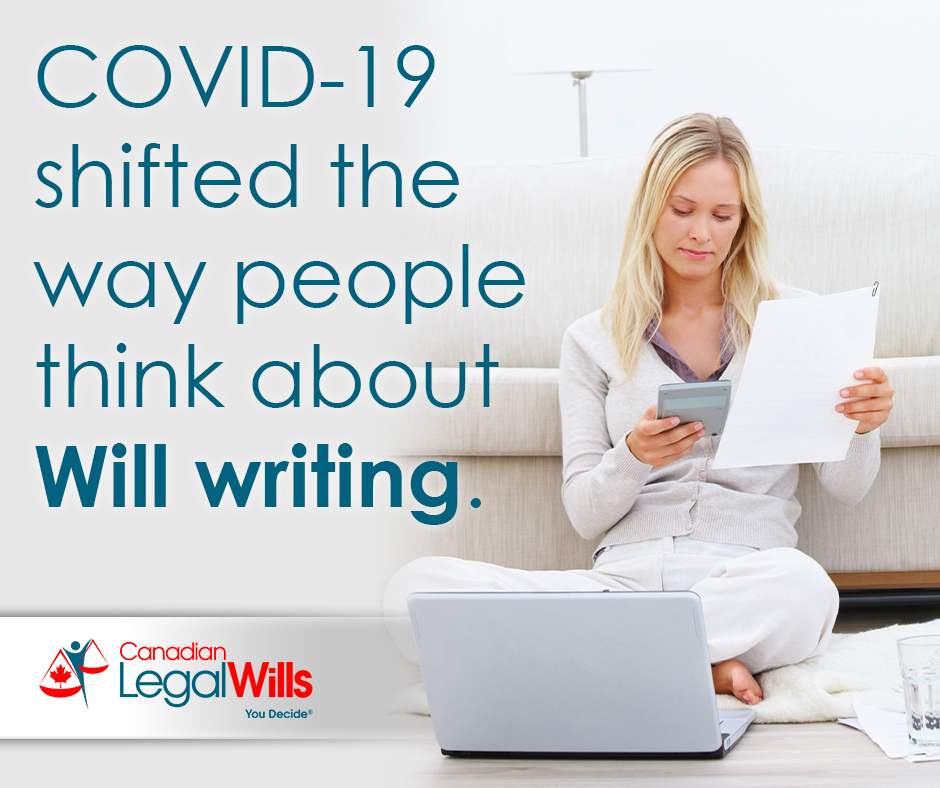 Did COVID inspire more people to write their Will in 2020/2021?